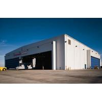 Buy cheap light prefabricated construction steel structure aircraft hangar design from wholesalers