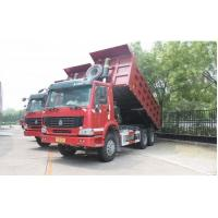 Buy cheap HOWO brand 6*4 LHD/RHD 25ton-30ton dump tipper truck, SINO TRUK HOWO 336hp 30tons dump truck for stone and coal from wholesalers