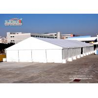 Buy cheap White Color Aluminum  Large Industrial Storage Warehouse Tents With PVC Fabric from wholesalers