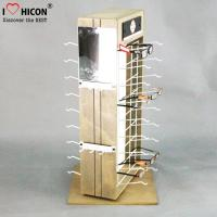 Buy cheap Custom 2-Way Sunglasses Display Case , Wooden Sunglasses Display For Retail Shop from wholesalers