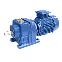 Buy cheap 11.0kW R77/R87/R97 Ratio 10.88/15.35 speed reducer price bonfiglioli gear motor from wholesalers