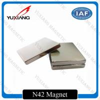 Buy cheap Sintered Neodymium Block Magnets Tighter Tolerances For MRI / Wind Generator from wholesalers