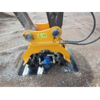 Buy cheap Excavator Attachments Vibrating Hydraulic Plate Compactor Machine for Sale from wholesalers