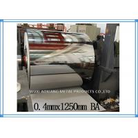Buy cheap Cold Rolled Stainless Steel Sheet Coil BA Finish AISI Inter Paper Protection from wholesalers