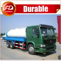 Buy cheap 2016 hot sale high quality 19000L 6x4 STR 5000 gallon water tank truck from wholesalers