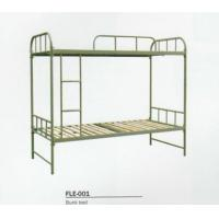 Buy cheap student dormitory metal bunk bed from wholesalers