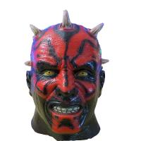 Buy cheap X-MERRY Darth Maul Mask Deluxe Latex Mask Star Wars Costume Accessory from wholesalers