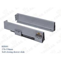 Buy cheap Kitchen Drawer Slide With Soft Closing Drawer Runner slide for cabinet KRS02 from wholesalers