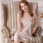Buy cheap 100% Mulberry Silk Women bath Robe Silk Sleepwear slip dress Bathrobes Nightdress from wholesalers