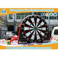 Buy cheap Attrative Design Commercial Giant Inflatable Sport Games , Double Sides Inflatable Soccer Darts Board from wholesalers