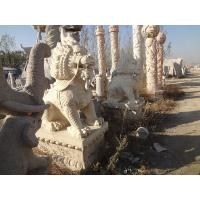 Buy cheap large outdoor kylin animal stone statue from wholesalers