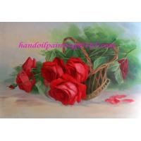 Buy cheap oil painting—flower from wholesalers