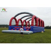 Buy cheap Outside Inflatable Adult Sports Games Of 5k Races Run For Amusement Park from wholesalers