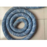 Buy cheap Geocomposite Drain 50mm Diameter Flexible Permeable Hose With PVC Coated Steel Wire from wholesalers