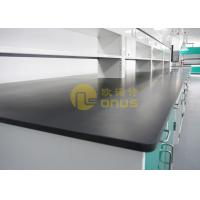 Buy cheap Black Resist heat laboratory countertops with molded marine edge from wholesalers