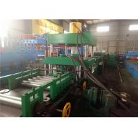 Buy cheap Automatic Highway Guardrail Roll Forming Machine ,  Guardrail Forming Machine 2/3 Waves from wholesalers