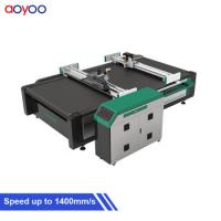 Buy cheap AOYOO 1625 model pu foam cutter for carbon fibre prepreg and sheet rubber from wholesalers