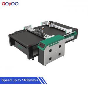 China AOYOO sample garment textile cloth knife cutter cutting machine on sale