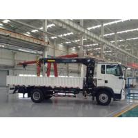 Buy cheap Heavy Duty Truck Mounted Crane 5 Tons SINOTRUK For Landscape Sanitation from wholesalers