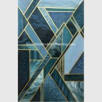 Buy cheap Contemporary Geometric Abstract Art Paintings For Star Hotels Decoration from wholesalers
