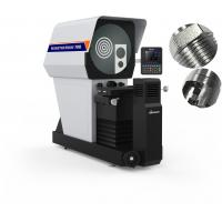 Buy cheap Horizontal Measuring Digital Profile Projector Marble Base Large Screen 5X-100X Lens 2D High Accuracy from wholesalers