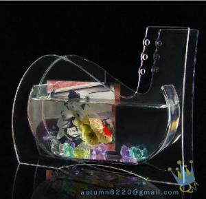 Buy cheap Wedding decoration small acrylic fish tank product