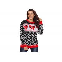 Buy cheap Long Sleeve Ugly Christmas Sweater Wool And Acrylic Material Comfortable from wholesalers