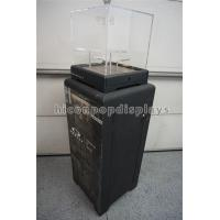 Buy cheap Black Sunglasses Display Case Freestanding Acrylic Top Sunglass Display Cabinet from wholesalers