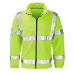 Buy cheap Hi Vis Fleece Reflective Safety Jacket from wholesalers