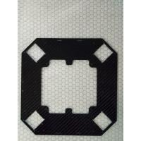 Buy cheap CNC cut carbon fiber plate board sheet  with 3K twill /3K plain surface thickness 1mm 2mm 3mm product