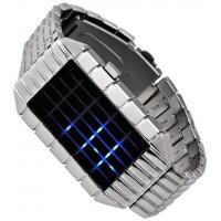 Buy cheap newest fashion led silicone watch silicone led watch---mirror watch from wholesalers