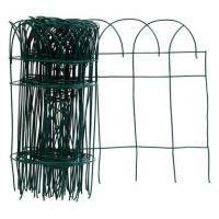 Buy cheap Zinc Welded Green Garden Edging Fence With Low Carbon Steel Wire from wholesalers