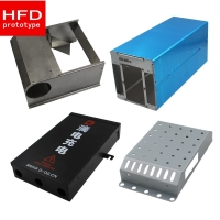 Buy cheap Tolerance 0.05mm Surface Roughness Ra3.2 Aluminum Sheet Metal Fabrication from wholesalers