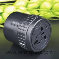 Buy cheap NEW Design Twist International Travel Power Adapter with USB For iphone/Sumsang TQ612 from wholesalers