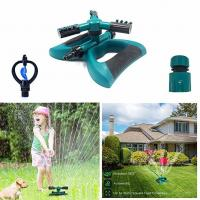 Buy cheap Automatic 360 Rotating Adjustable Garden Water Sprinklers Lawn Irrigation System Covering Large Area with 3 Arm Sprayers from wholesalers