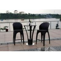 Buy cheap Outdoor rattan wine bar set-16077 from wholesalers