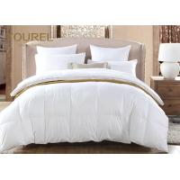 Buy cheap Pure White 4pcs Comforter Hotel Duvet Bedding Customed Logo product