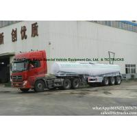 Buy cheap rare sulfuric acid tanker -33Tons-  acid tanker trailer V shape WhatsApp:8615271357675 from wholesalers