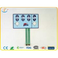 Buy cheap Dust - Proof Epoxy Keypad Membrane Switch 30V DC With Touch Panel , Pantone / RALcolor from wholesalers