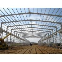 Buy cheap Light painted Q345B steel structure workshop for South Africa from wholesalers