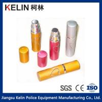 Buy cheap Hot sale 5ml Colorful lipstick Self Defense Pepper Spray with Keyring from wholesalers