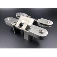 Buy cheap 35mm Door Stainless Steel Mortise Mount Invisible Hinge Long Time Service Life from wholesalers