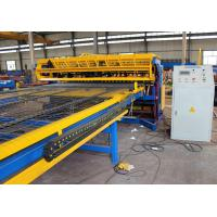 Buy cheap Full automatic 2.5mm-6mm Concrete Reinforcing Welded Wire Mesh Panel Machine with best price from wholesalers