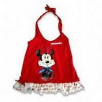 Buy cheap Girl's Swimsuit, 2011 Lovely Beach Swimsuit, Customized Designs Accepted from wholesalers