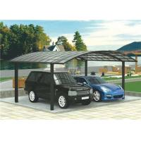 Buy cheap Aluminium Frame Two Car Carport , High Wind Resistance Free Standing Carport from wholesalers