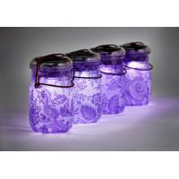 Buy cheap solar glass jar from wholesalers