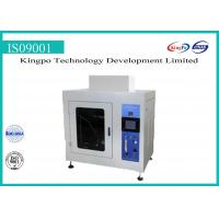 Buy cheap Custom Needle Flame Tester , Needle Flame Test Apparatus Automatic Control from wholesalers