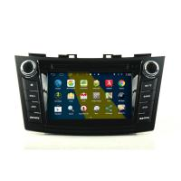 Buy cheap 2DIN HD android car dvd android 4.4.4 HD 1024*600 car DVD GPS for SUZUKI SWIFT with WiFi Mirror link from wholesalers