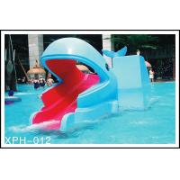 Buy cheap Outdoor Water Park Whales Cartoon Shape Kids Pool Water Slides, SGS from wholesalers