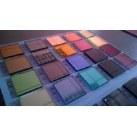 Buy cheap 3mm 4mm 6mm beveled colored mirror sheet / tinted mirror sheet from wholesalers